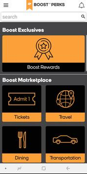 Boost Perks poster