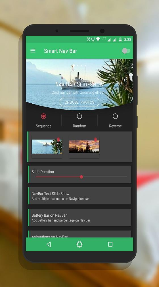 Smart navigation bar - navbar slideshow for Android - APK Download
