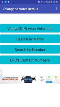Telangana VoterSearch&Grama Panchayat(Local Body) poster