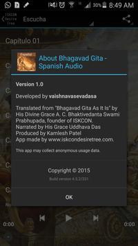 Bhagavad Gita - Spanish Audio 截图 9