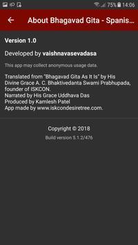 Bhagavad Gita - Spanish Audio 海报