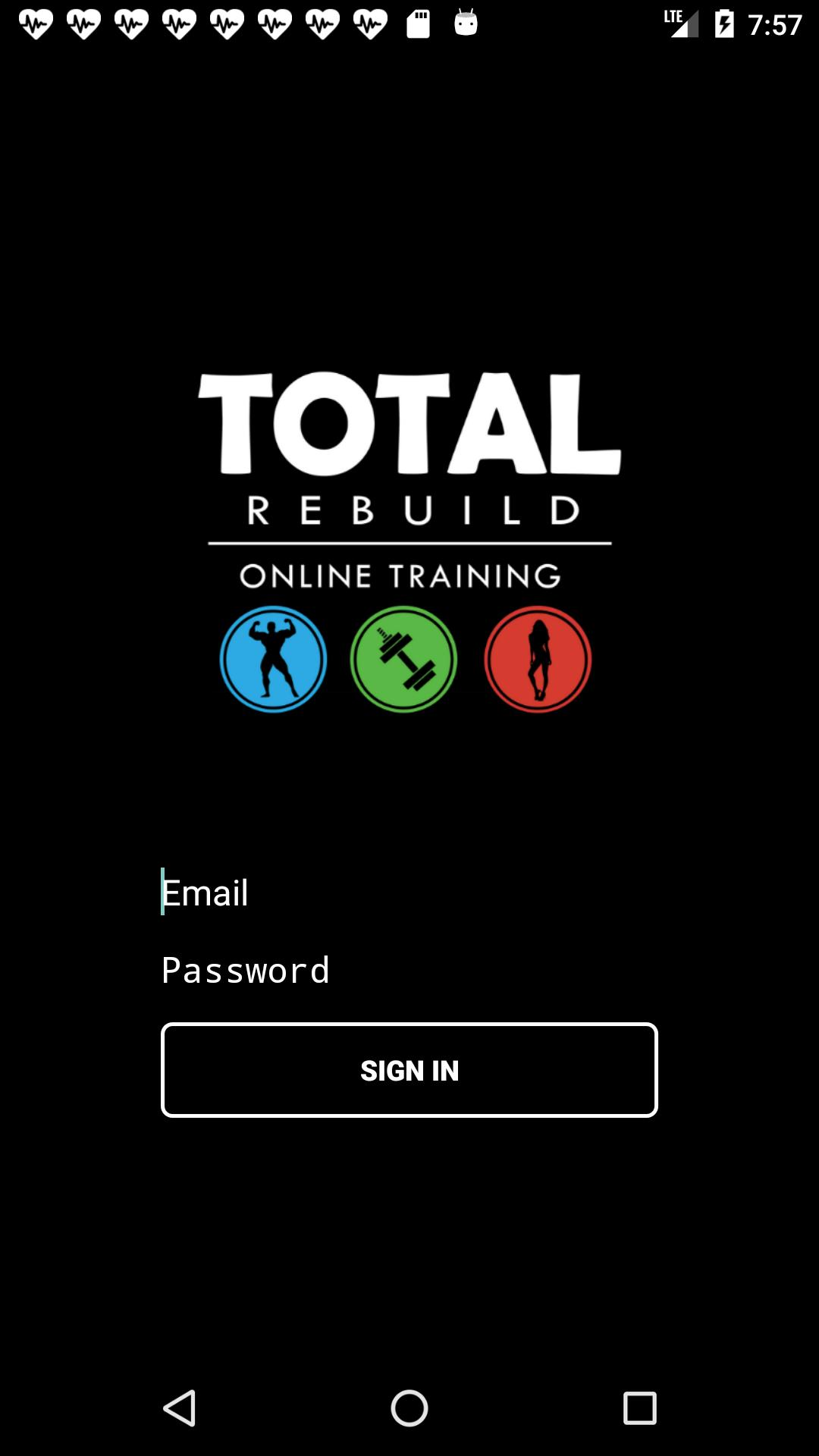 Total Rebuild Online Training for Android - APK Download