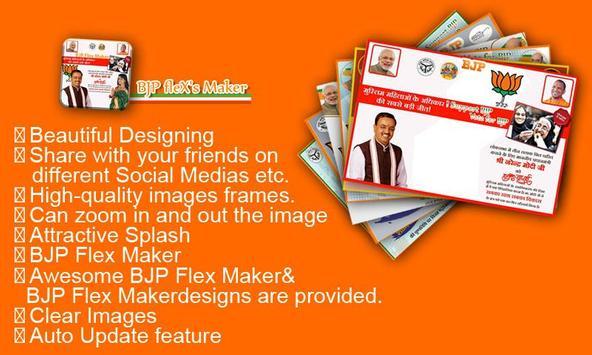 BJP Flex Maker poster
