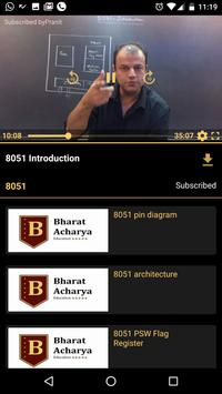 Bharat Acharya Education poster