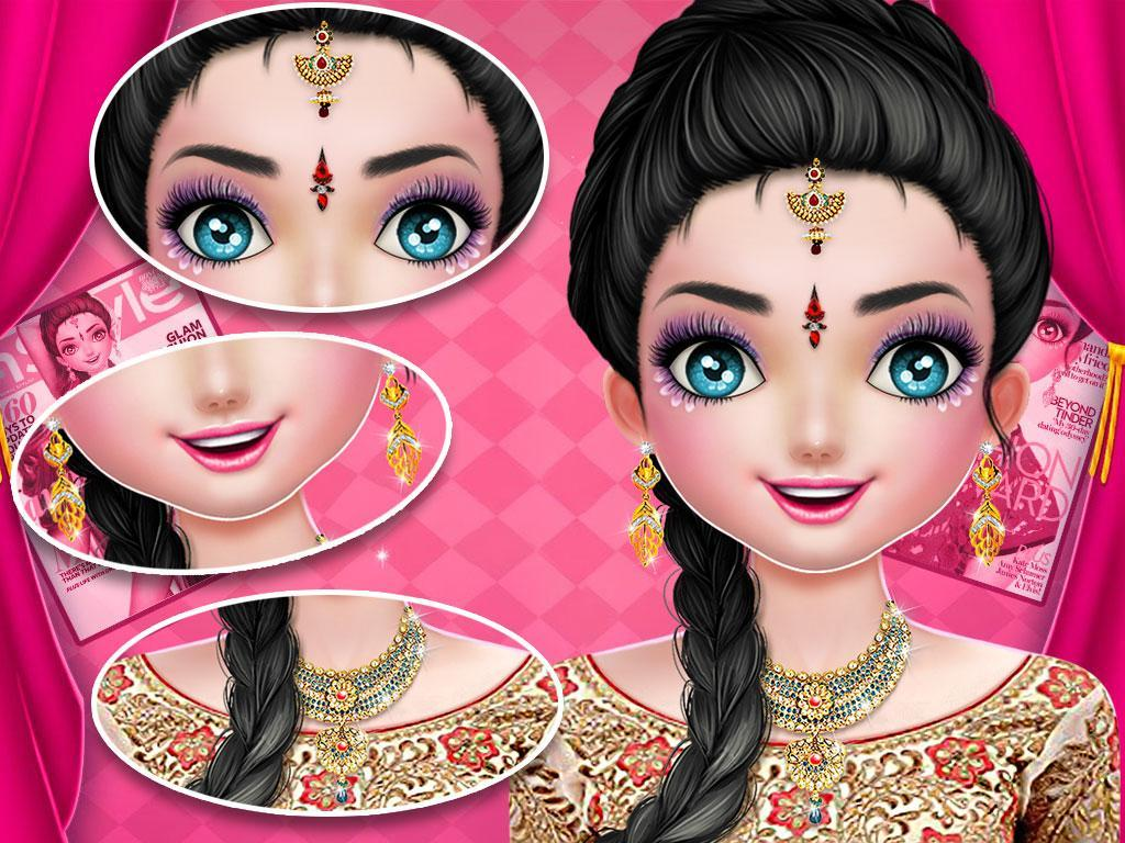 Big Fat Indian Wedding  Makeup and Dressup Games for Android ...