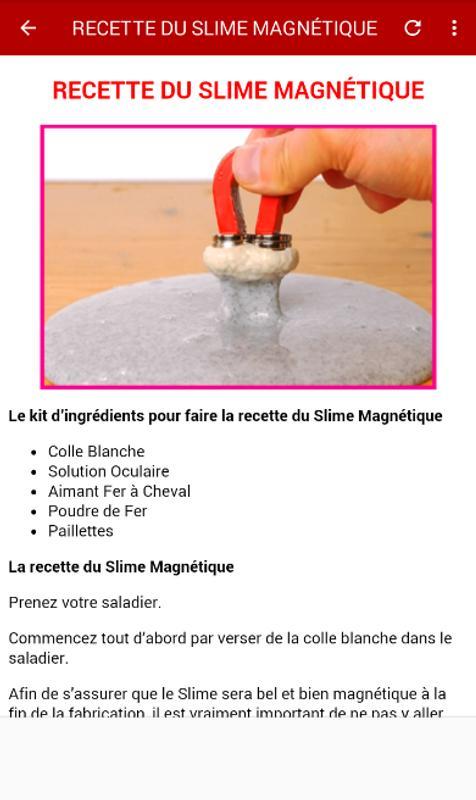 Comment Faire Du Slime En Français For Android Apk Download