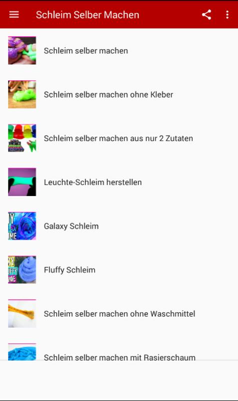 Schleim Selber Machen Deutsch For Android Apk Download