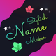 Stylish Name Maker and Quote Designs APK image thumbnail