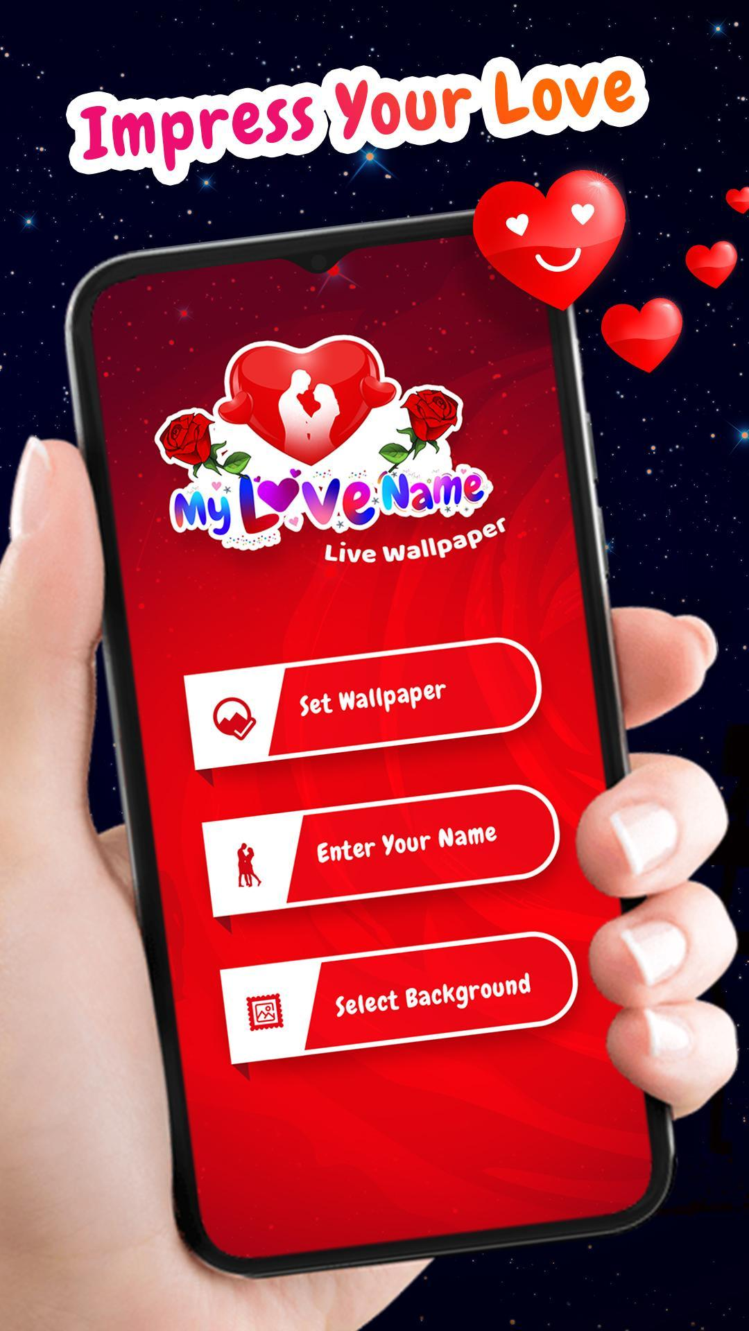 My Love Name Live Wallpaper For Android Apk Download