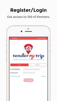 TenderMyTrip screenshot 1