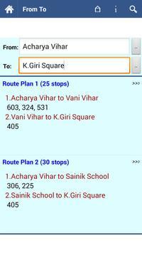 Bhubaneswar Bus Info screenshot 2