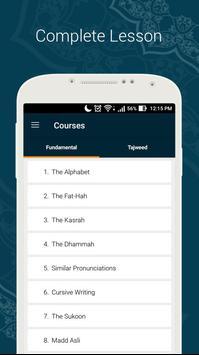 Learn Quran Tajwid poster