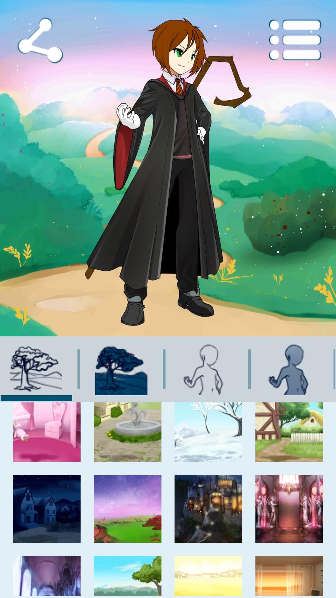 Createur D Avatar Garcons D Animes Pour Android Telechargez L Apk