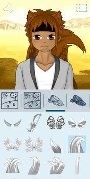 Créateur d'avatars : Anime capture d'écran 23