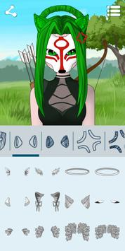 10 Schermata Crea Avatar: Anime