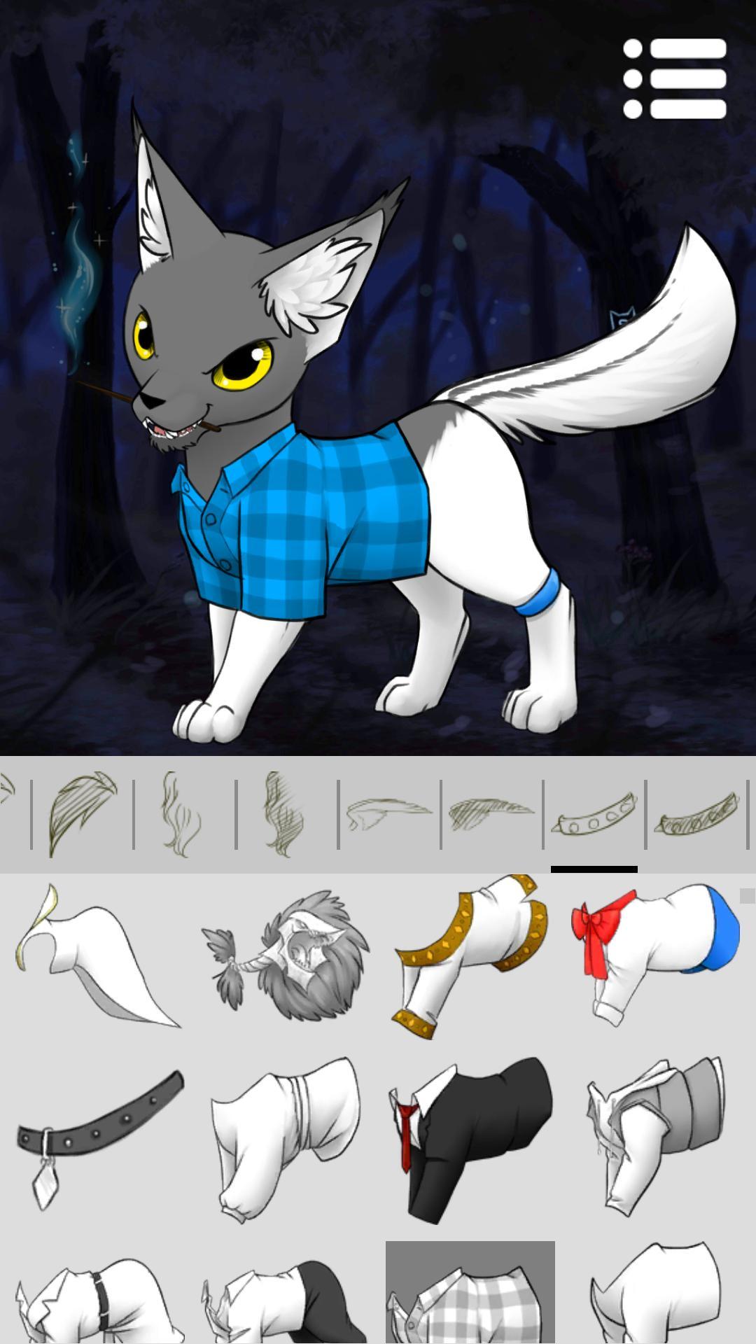 аватар мейкер коты 2 на андроид