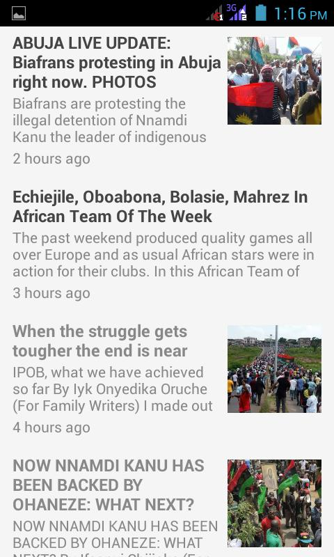 Biafra News + TV + Radio App for Android - APK Download