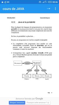 cours JAVA poster