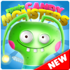 Candy Monsters - Pop The Fruit Candy Juice Crush icono