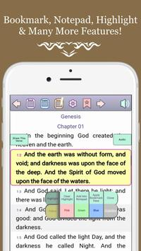 BIBLE: King James Version, All Offline, Easy &Free screenshot 1