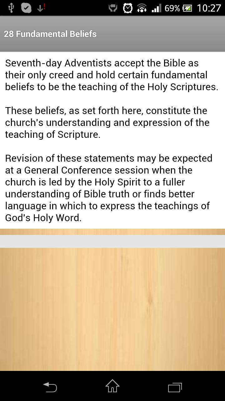 SDA Beliefs for Android - APK Download