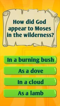 Bible Trivia Quiz Game With Bible Quiz Questions screenshot 1