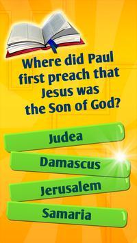 Juego De Preguntas Y Respuestas De La Biblia captura de pantalla 3