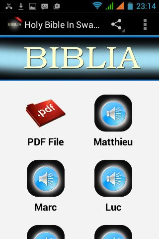 Holy Bible In Swahili Free For Android Apk Download