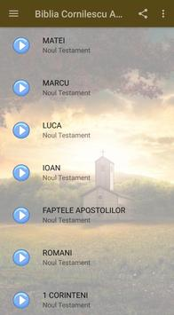 Biblia Cornilescu Audio स्क्रीनशॉट 3