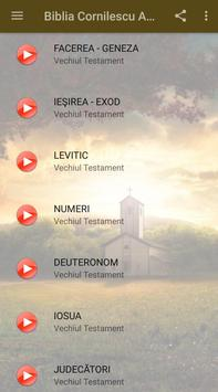 Biblia Cornilescu Audio स्क्रीनशॉट 1