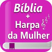 Bíblia e Harpa da Mulher JFA Gratuita e Offline icon