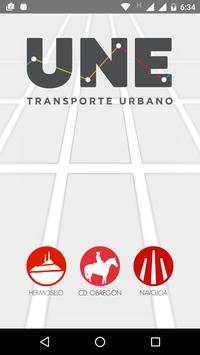 UNE Transporte Sonora постер