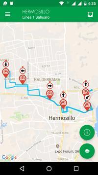 UNE Transporte Sonora скриншот 2