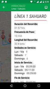 UNE Transporte Sonora скриншот 3