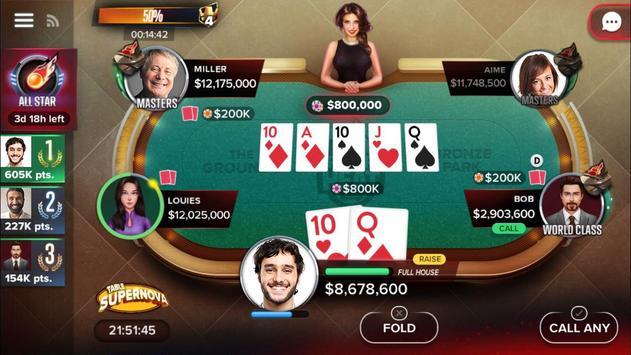 Poker Heat™: Permainan Texas Holdem Poker Percuma syot layar 5