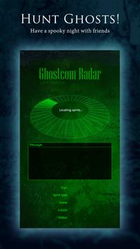Ghostcom™ Radar - Spirit Detector Simulator poster