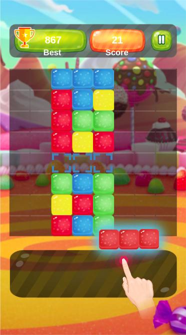Block Puzzle - The Classic Candy Blitz Sugar Crush for