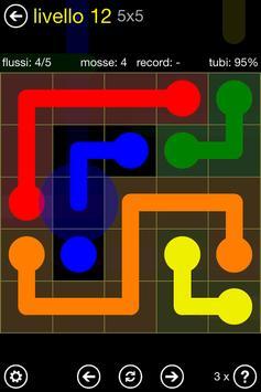 10 Schermata Flow Free