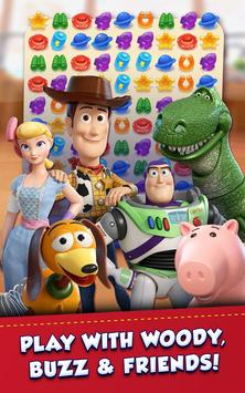 Toy Story Drop! – You've got a friend in match-3! постер