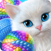 Knittens: Sweet Match 3 Puzzles & Adorable Kittens (Unreleased) icon
