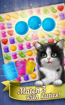 Knittens: Sweet Match 3 Puzzles & Adorable Kittens (Unreleased) screenshot 10