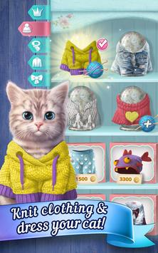 Knittens: Sweet Match 3 Puzzles & Adorable Kittens (Unreleased) screenshot 13