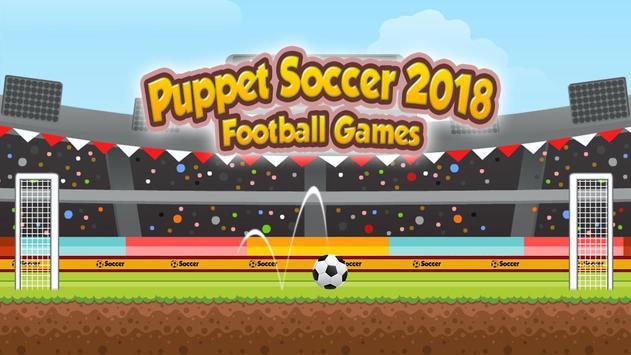 Puppet Soccer 2018 스크린샷 6
