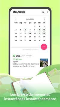 Daybook imagem de tela 1