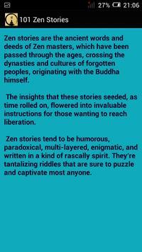 101 Zen Stories تصوير الشاشة 4