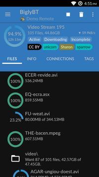 BiglyBT, Torrent Downloader Client screenshot 1