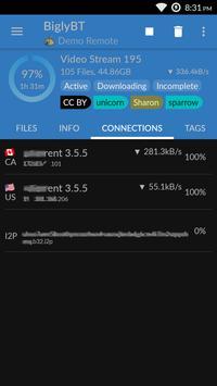 BiglyBT, Torrent Downloader Client screenshot 2