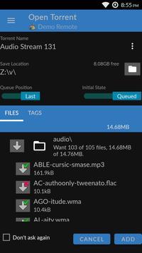 BiglyBT, Torrent Downloader Client screenshot 3