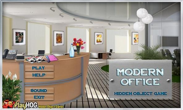# 286 New Free Hidden Object Games - Modern Office screenshot 1