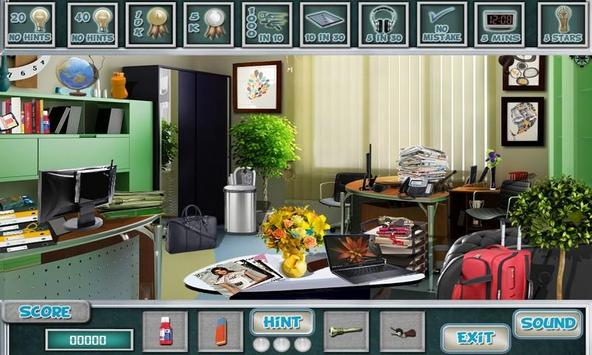 # 286 New Free Hidden Object Games - Modern Office screenshot 8